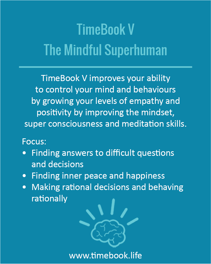TimeBook V - The Mindful Superhuman