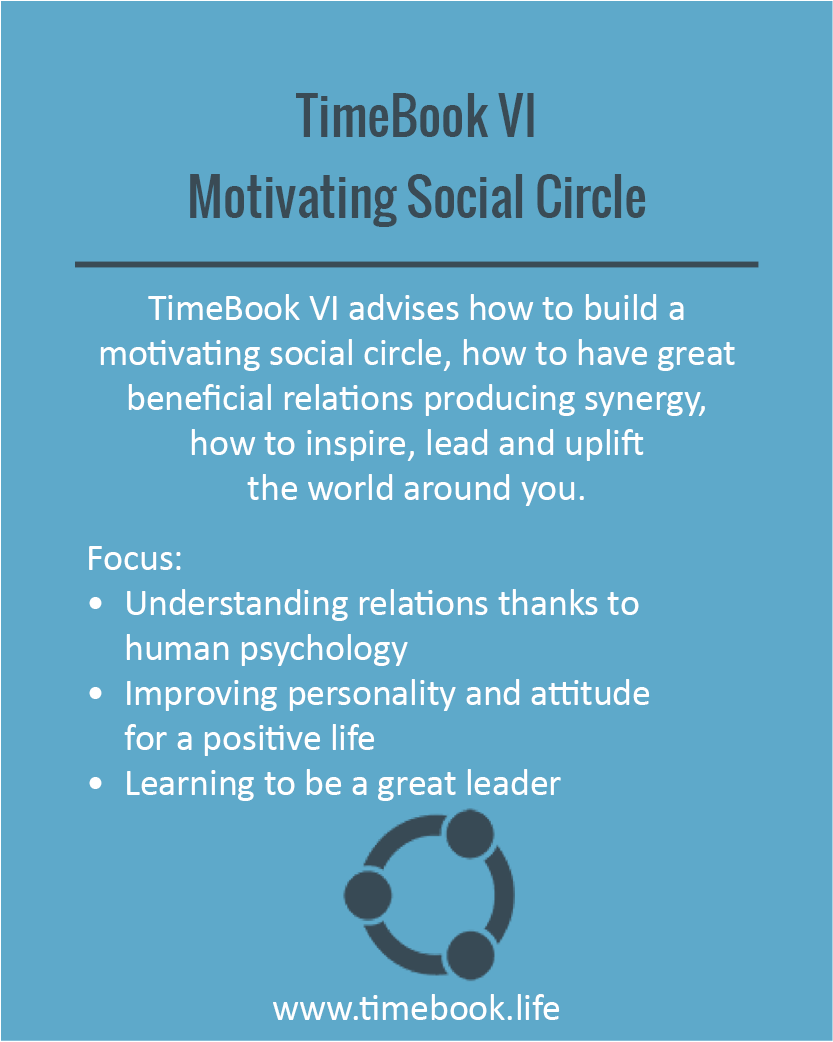 TimeBook VI - Motivating Social Circle