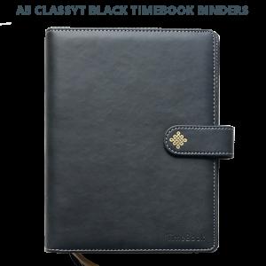Classy Black Binder Title