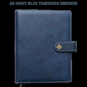 Navy Blue Binder Title