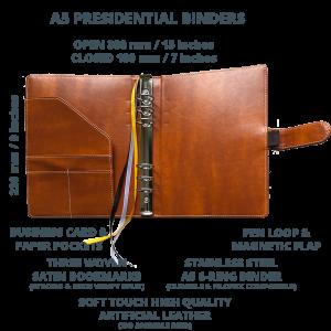 Presidential Binder Open